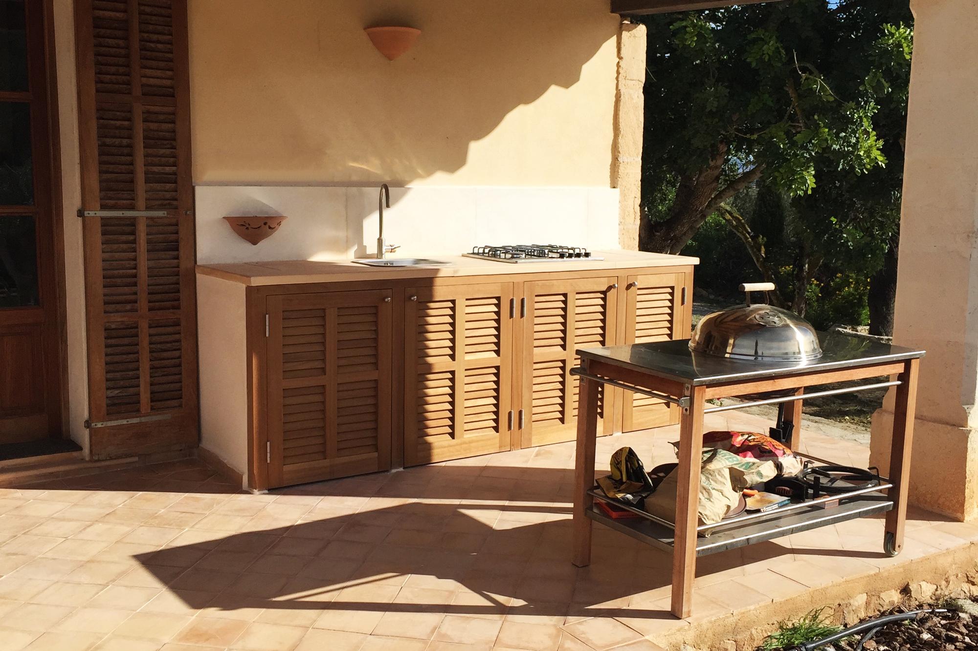 Aufregend aussenkuche ausfuhrung wohndesign for Modulkuche outdoor